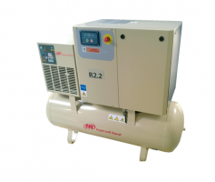 Винтовой маслозаполненный одноступенчатый компрессор с осушителем R2,2-5,5 кВт