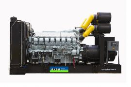 ДЭС APD2100M с двигателем MITSUBISHI (2100 кВА)