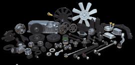 Запасные части и комплектующие