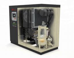 Винтовой маслозаполненный одноступенчатый компрессор R55