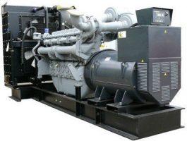 ДЭС WP2000 с двигателем PERKINS (2020 кВА)
